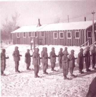 Recon Troop, Camp Sidnaw, MI, Ski training