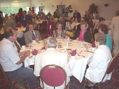 76th Division Banquet, Sept. 8, 2001