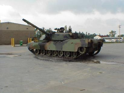 M1-Abrams Tank, Ft. McCoy, Sept. 7, 2001