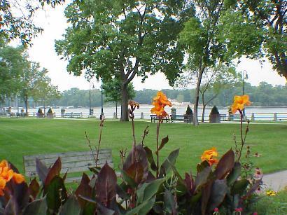 View of Mississippi River outside Raddison Hotel, Sept. 8, 2001
