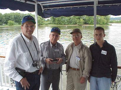 Cruising the Mississippi River with Friends, Sept. 8, 2001