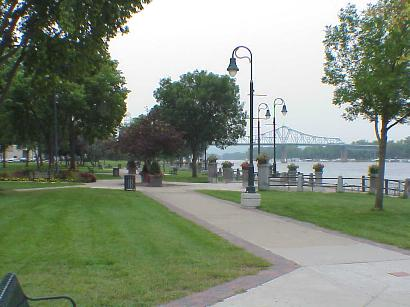 View of Mississippi River, Sept. 8, 2001